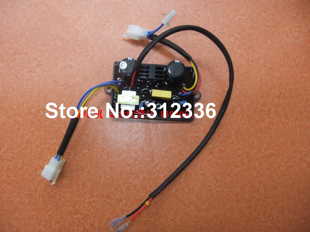 Free Shipping 3 socket Welder Generator 12 wire 5kw 5kVA 6kVA 7kVA AVR Welding AVR Single phase diesel gasoline generator