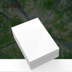Cobee 100 pces 5/6/7 Polegada papel fotográfico impressão lustrosa impressora de papel foto impressão a cores revestido para impressão em casa