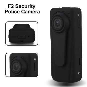 F2 Mini Body Worn Camera HD 1080P Digital Police Camera Security Guard Recorder DVR Body Pocket Law Enforcement Cam - DISCOUNT ITEM  25% OFF All Category
