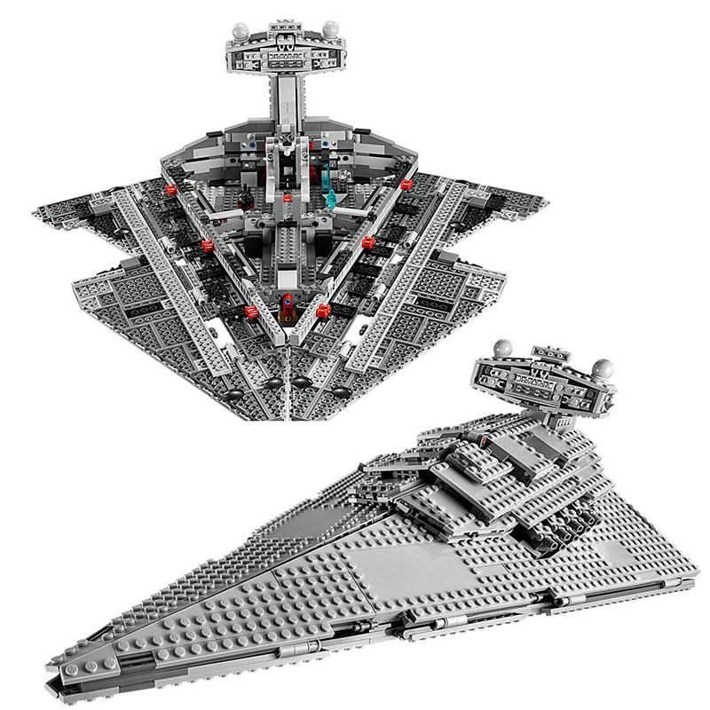 LEPIN 05027 Star 3250Pcs Wars Emperor fighters Imperial Star Destroyer Building Kit Blocks Bricks 75055 to Children Toys new lepin 05027 3250pcs star wars imperial star destroyer model building kit blocks bricks educational compatible legoed 10030