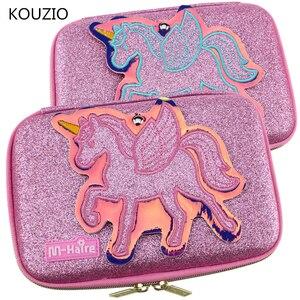 Image 1 - Pencil case kawaii unicorn girls cute estuche escolar trousse scolaire stylo trousse lapiceras escolares kalemlik astuccio box