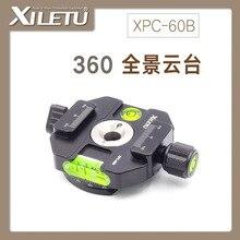 XILETU XPC-60B алюминиевый литой адаптер зажимной зажим и БЫСТРОРАЗЪЕМНАЯ пластина с переходной винт 1/4 '-3/8'