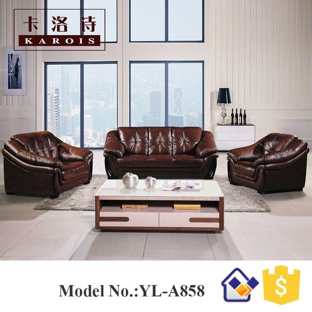 Nuovo stile moderno designs prezzo poco costoso india divano del ...