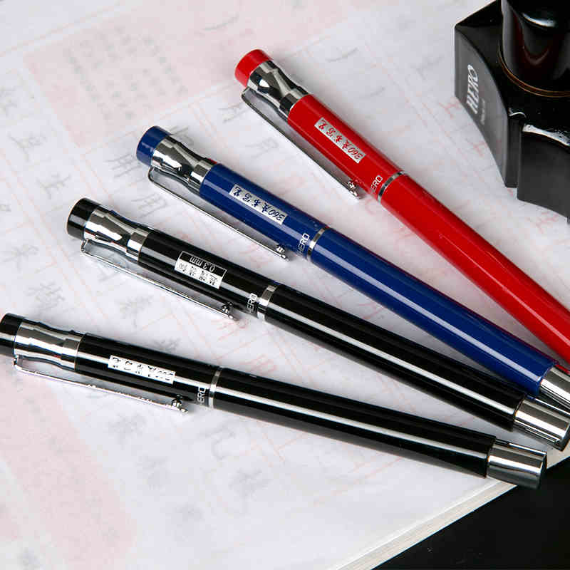Hero 257A Finance Special Fountain Pen Office&School Supplies 0.5mm Nib Sign/Ink/Writing Pens Free Shipping 0 5mm hooded nib fountain pen wingsung 016 office and school writing pens free shipping
