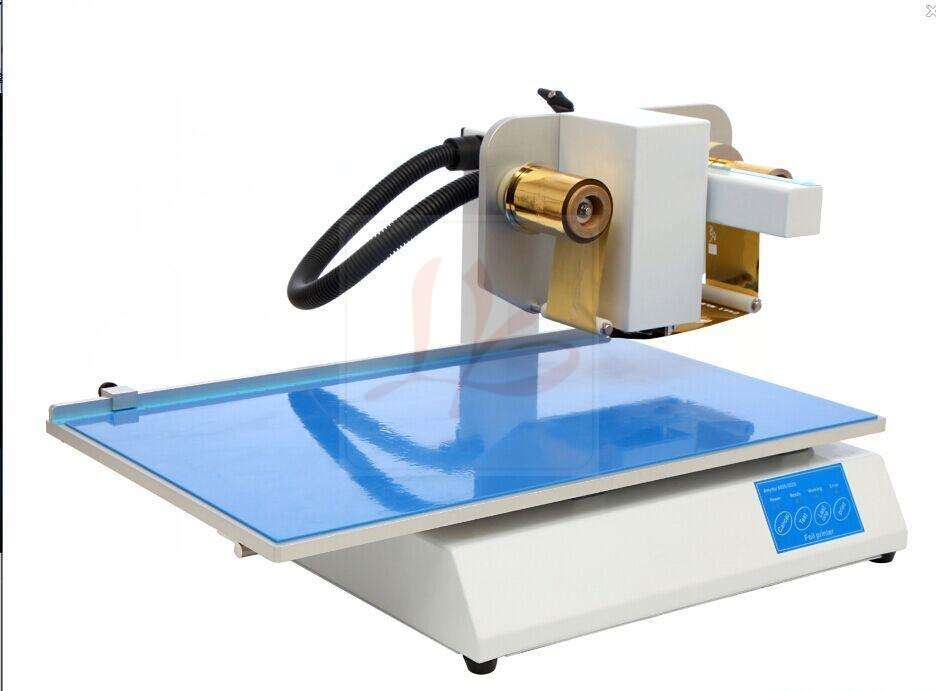 LY 500A foil press machine digital hot foil color business card ...