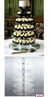 Producenci sprzedają 7 tier ciepłe okrągłe ciasto wieża specjalne wedding cake decoration akrylowa cupcake stojak dekoracji sklepów
