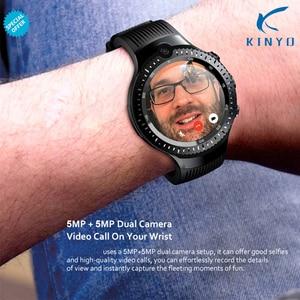 Image 2 - אנדרואיד 7.1 LTE 4 גרם חכם שעון 1 + 16 gb זיכרון תמיכת כרטיס ה SIM WIFI GPS מפת גוגל Smartwatch 5MP + 5MP מצלמה כמו M7/8 Z28 W2