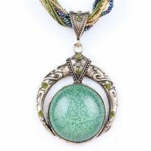 Boho Natural Stone Necklace