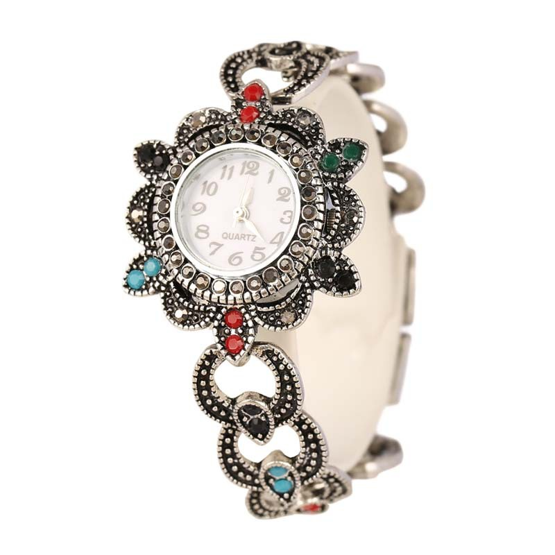 Women's Bracelet Watches Top Brand Luxury Lady Dress Watches Elegant Crystal Jewelry Quartz Wristwatch Female Clock Reloj Mujer