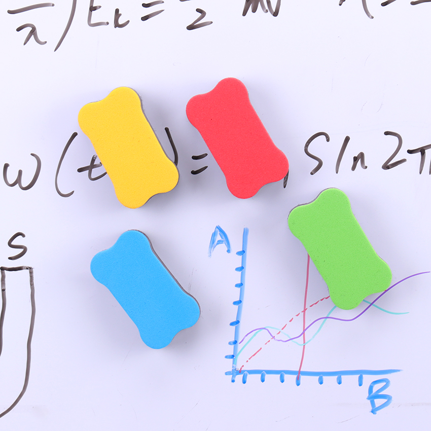 Blackboard-Eraser Duster Marker-Pen Magnetic Wipe 1PC Dry