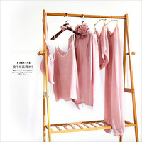 2017 Selling women's Sexy chiffon nightwear Summer Home pajamas sets (Bathrobe + Camisole+trousers In total Seven pieces)
