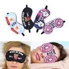 1PCS 3D Printing Eye Sleep Masks Sleeping Eye Mask Lovely Eye Care Shade Blindfold Sleep Mask Eyes Cover Sleeping Tools