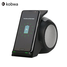 Bluetooth four.zero Wi-fi Quick Charging Stand&Stereo Speaker Transportable Rechargeable Units For Samsung iPhone Andriod Smartphones