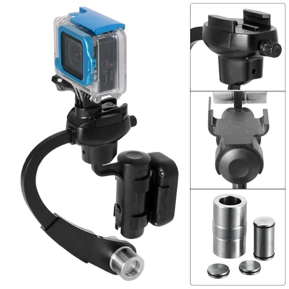 Professional Mini Handheld Kamera Stabilisator Video Steadicam Gimbal für Gopro go pro Hero 3 + 4 Action Kamera