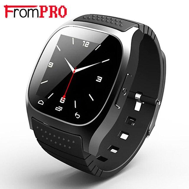 Оригинальный M26 Bluetooth Smart Роскошные часы наручные Rwatch smartwatch с циферблатом SMS напомнить шагомер для Android samsung телефон