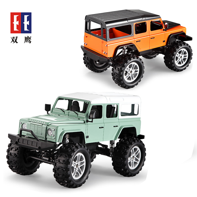Double Eagle 2.4G Remote Control Off-road Vehicle Tracked Climbing RC Car LandRover Model Classic Toys For Children Gifts