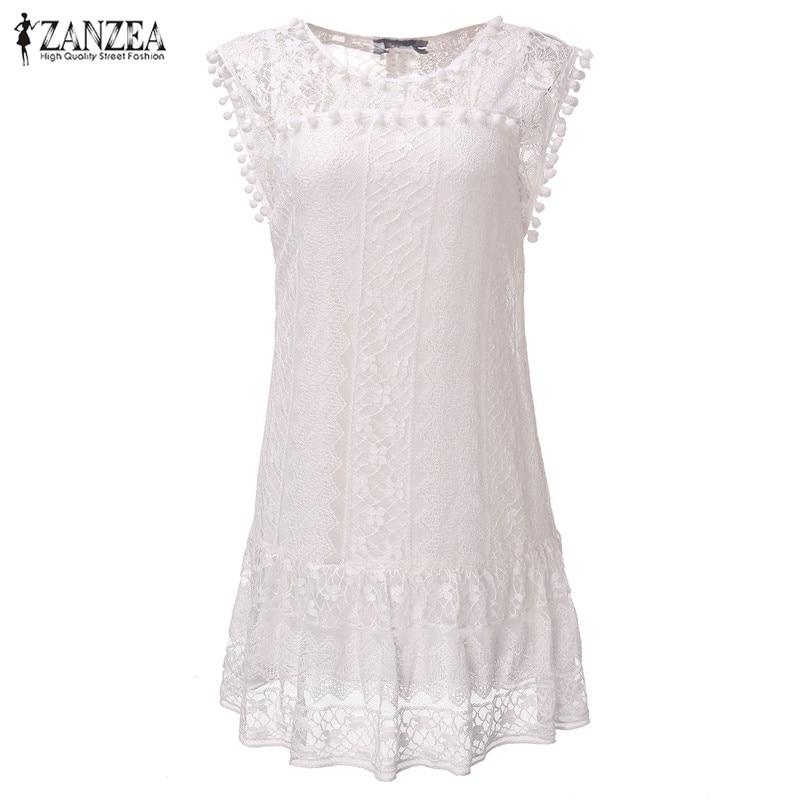 Casual Solid Short Sleeve Slim Lace Mini Dress Plus Size