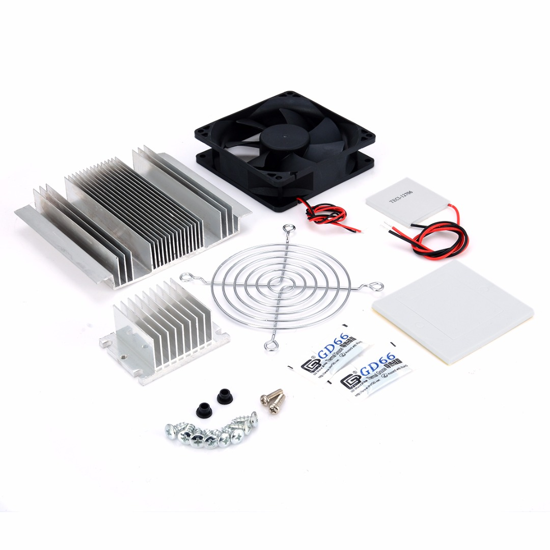 Image 3 - 1pc Thermoelectric Peltier Refrigeration Cooler DC 12V Semiconductor Air Conditioner Cooling System DIY Kit-in Instrument Parts & Accessories from Tools
