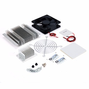 Image 3 - 1pc Thermoelectric Peltier Refrigeration Cooler DC 12V Semiconductor Air Conditioner Cooling System DIY Kit