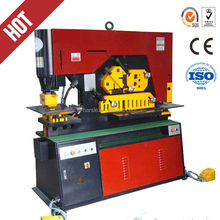 Q35Y hydraulic ironworker metal fabrication Channel hydraulic bar machine steelworker multi ironworker universal ironworker