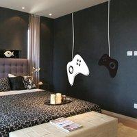 Hot meninos jogo controladores de jogo Gamer Vinyl decalque Mural de parede quarto adesivo decorativo