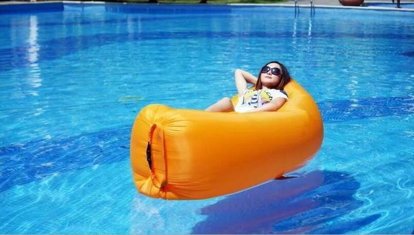 floating air bean bag chair, outdoor waterproof beanbag sofa seat , good inflatable chair actionclub high quality waterproof inflatable baby chair for feeding bean bag bath seat kawaii bear monkey baby sofa 64 61 74cm