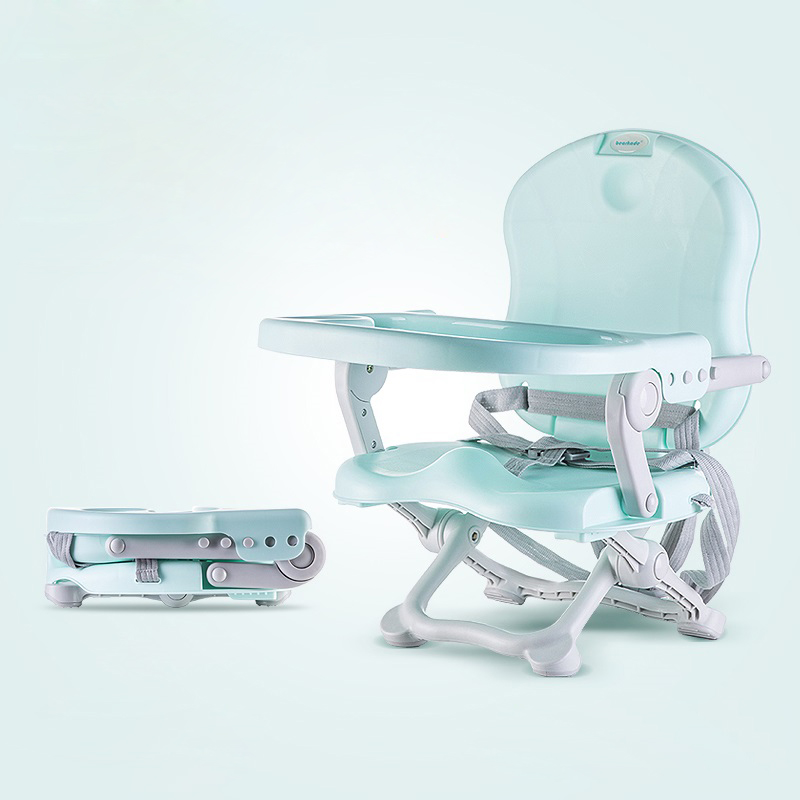 Adjustable Folded Baby Kids Booster Seat High Chair Detach Tray Baby Chairs Dinner Plate Feeding Portable Children Safety Seat