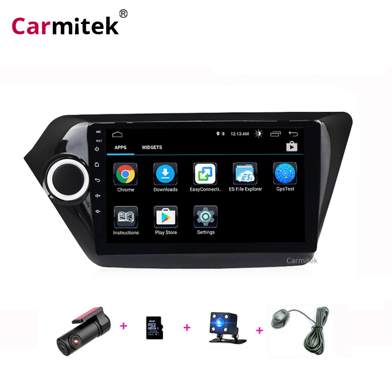 <font><b>2Din</b></font> <font><b>Android</b></font> <font><b>9</b></font> Car Multimedia Player For KIA RIO 3 4 Car Radio Stereo 2010-2017 Navigation <font><b>AutoRadio</b></font> GPS Tape Recorder K2 Wifi image