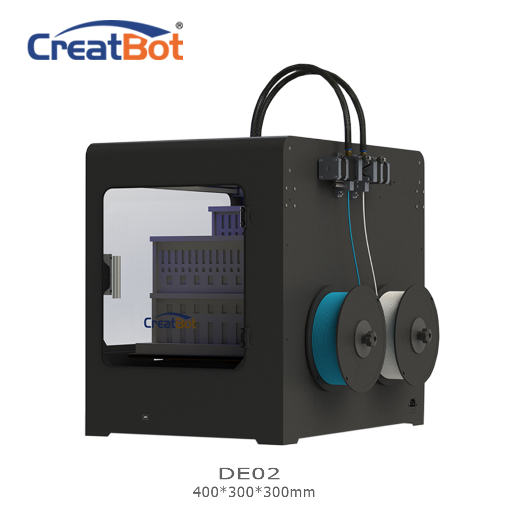 CreatBot 3d-skrivare DE02 Build Size 400 * 300 * 300 mm Dual - Kontorselektronik - Foto 2