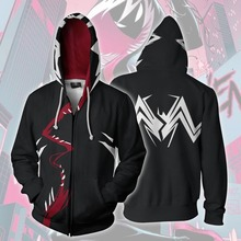 Venom Gwen Spider Man Comic Cosplay Anime Hoodie Costume Sweatshirt Jacket Coats Men and Women