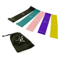 Slip Elastische Band Loop Set Milieuvriendelijke Latex voor Yoga Pilates Home Fitness Oefening Fysieke Power en Flexibiliteit