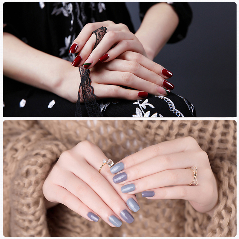 Free Shipping Nail Art Design Manicure Rose love 74 Color 8Ml Soak ...