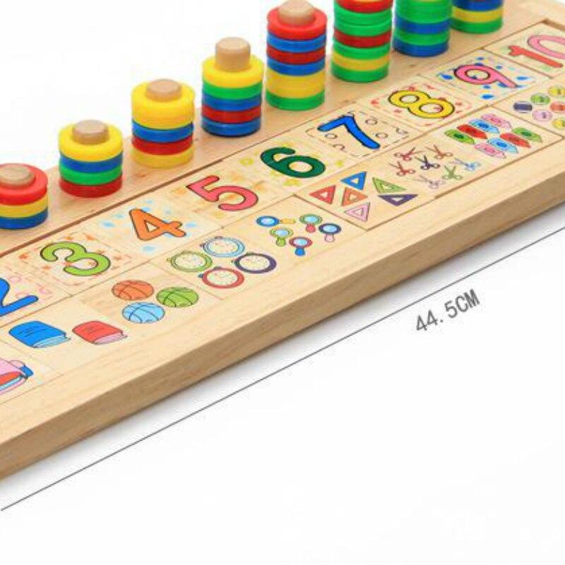 Djeca Drveni Montessori Materijali Učenje Brojeva Brojeva koji - Obrazovanje i osposobljavanje - Foto 3