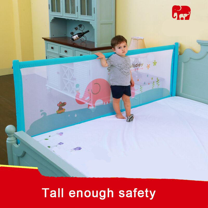 Big high baby bed rail bedrail baby safty sleeping bed