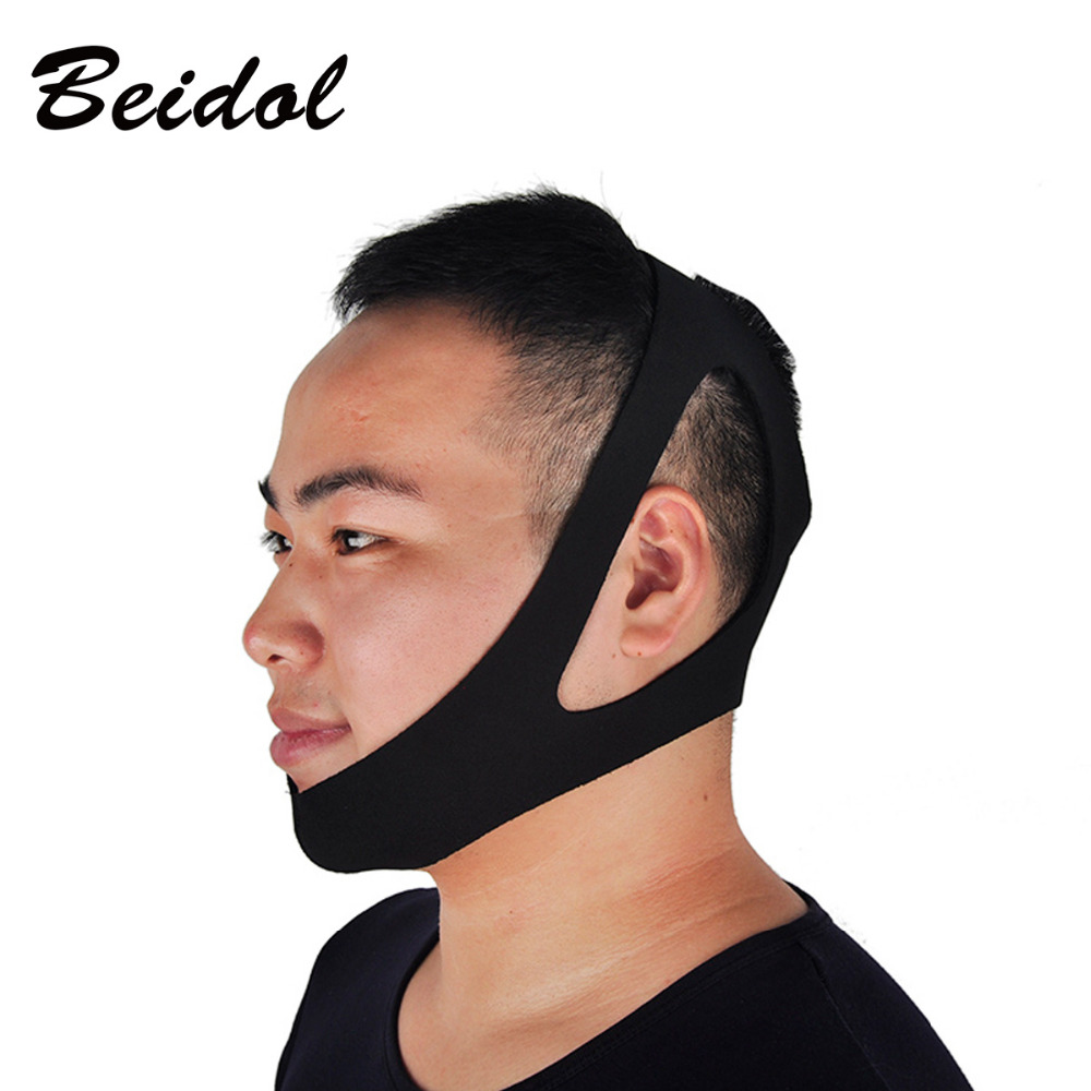 3 pcs Snore Belt Stop Snoring Sleep Apnea Chin Support Strap
