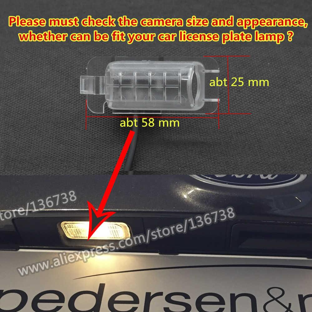 """MCCD 1080 P Fisheye Starlight voiture vue arrière caméra de recul pour Ford Kuga Escape 2013 2014 2015 sans fil 4.3 """"5"""" moniteur de stationnement"""