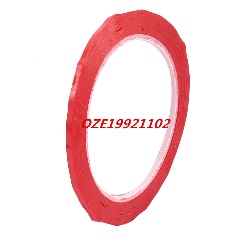3mm Width 66M Length Single Sided Adhesive Marking Tape Mara Tape Red 1pcs 18mm x 5mm single sided self adhesive shockproof sponge foam tape 3 meters