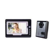 Yobang Security 7″ Wired Night Visual video door phone Door Access Control porteiro eletronico LCD Visual Monitor Door intercom