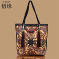 XIYUAN BRAND fashion women's embroidered vintage national Tassel Cross Beach Bohemian shoulder bags handmade Messenger Bags
