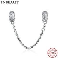 INBEAUT Đôi Tim Nữ Hoàng Vương Miện Mặt Dây Chuyền cho Nữ Vòng Cổ 925 Sterling Bạc Vòng Đeo Tay Charms fit Pandora Bracelet