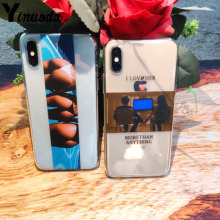 for iphone 11 Romantic couple sexy ass Funny Quote Soft Phone Case Coque Cover For iPhone 7Plus 7 6 6S 5S SE 8 8Plus X XS Max