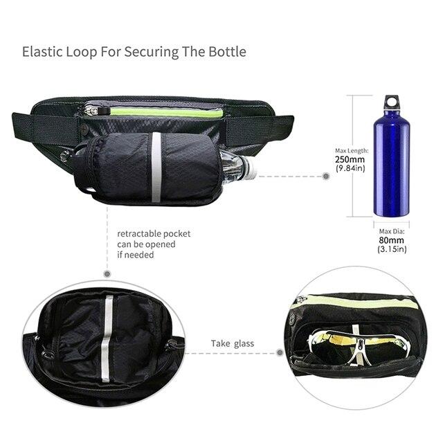 Fitness Sport Accessories Trail Running Bag Mobile Belt Marathon Women Mens Sports Wallet Bags Waist Bottle Bag 4