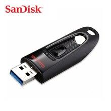 SanDisk Ultra USB 3.0 Flash Drive CZ48 16GB 32GB 64GB 128GB 256GB Pen Drive 100MB/s USB Stick for Desktop Laptop Netbook U Disk