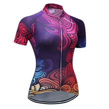 New Cycling Jersey Women Gel Pad Quick Dry Shorts Mountain Road Bike Riding Bicycle Cycling Set Breathable Clothing H8401