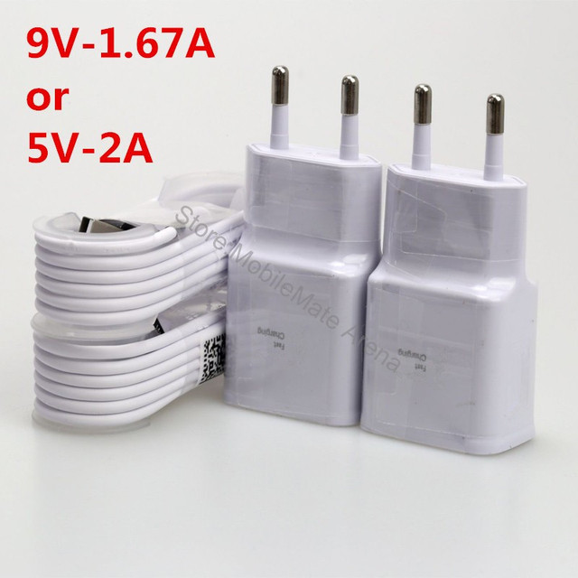 Mobile Phone Usb Charger Adapter 9V 1.67A/5V 2A Wall Travel For Samsung Galaxy Note 8 S8 S7 S4 S3 A5 2017/Xiaomi Redmi Note 4 3