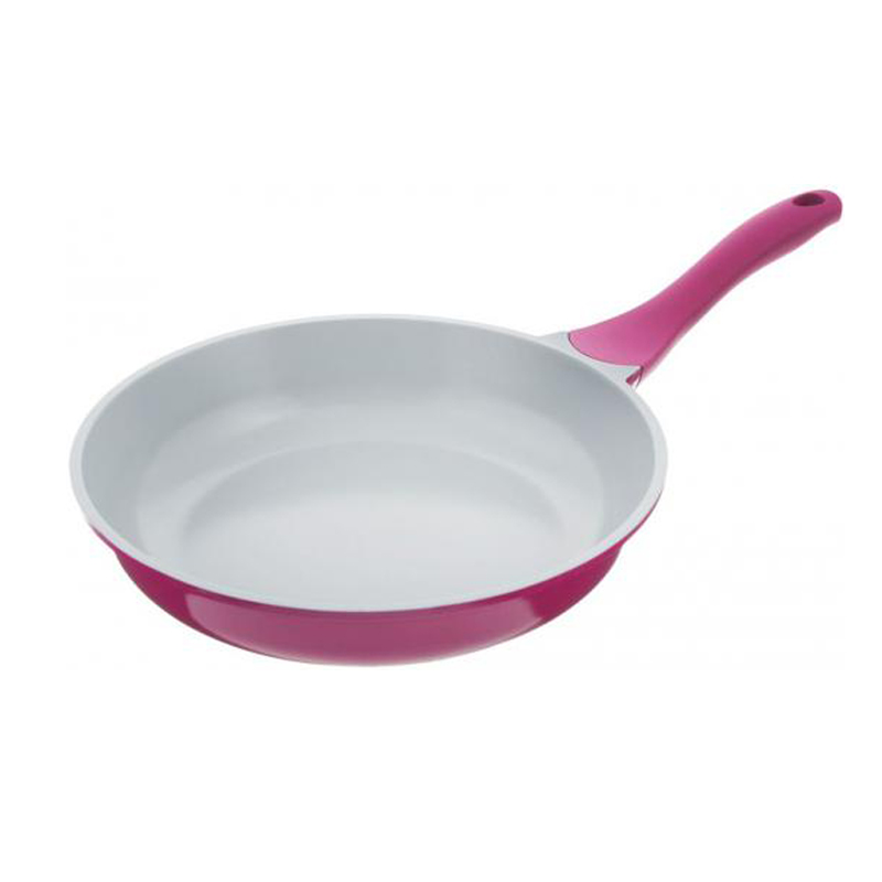 Frying pan without lid Biostal Bio-FP-26 violet/grey 26 cm мышь cbr cm 500 grey