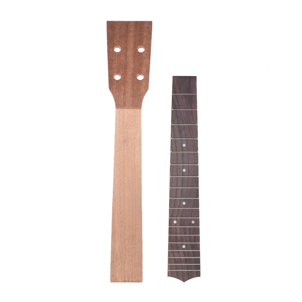 Guitar Parts & Accessories Rosewood 18 Fret Fretboard Fingerboard For 23 Inch Ukulele Hawaii Guitar Parts Hot Sale Complete Range Of Articles Stringed Instruments