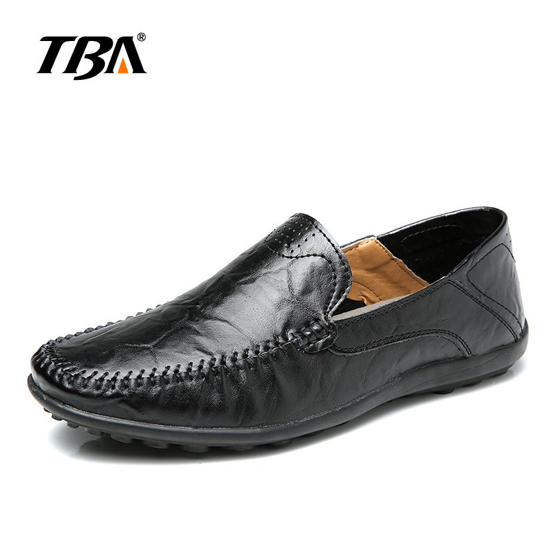 2017 TBA Men Slip On Leather Shoes Outdo