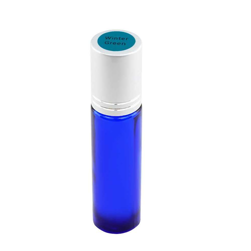 192 pz/Copriletto Colorato Adesivi di Carta Etichette per Bottiglie di Olio Essenziale di Vetro Cap Coperchio Etichette Rotondo In Bianco Cerchi Sticker #281571