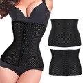Las mujeres ahueca hacia fuera transparente único corset reductora body control faja senos libres fajas 2016 venta caliente
